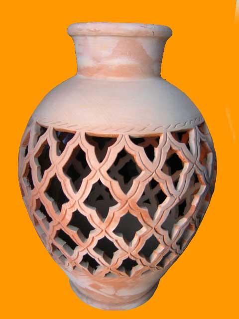 Handmade Pottery Clay Vase